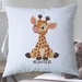 Personalised Cute Animal Cushion Cover 40cm 3  Designs