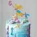 Mermaid Cake Topper Personalised