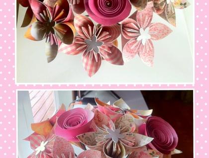 How to DIY Beautiful Origami Rose | 318x420