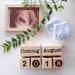 Baby announcement blocks +  Milestone blocks