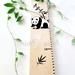 Panda inspired height chart
