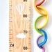 Wide rainbow height chart