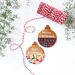 Personalised Christmas baubles - assorted patterns