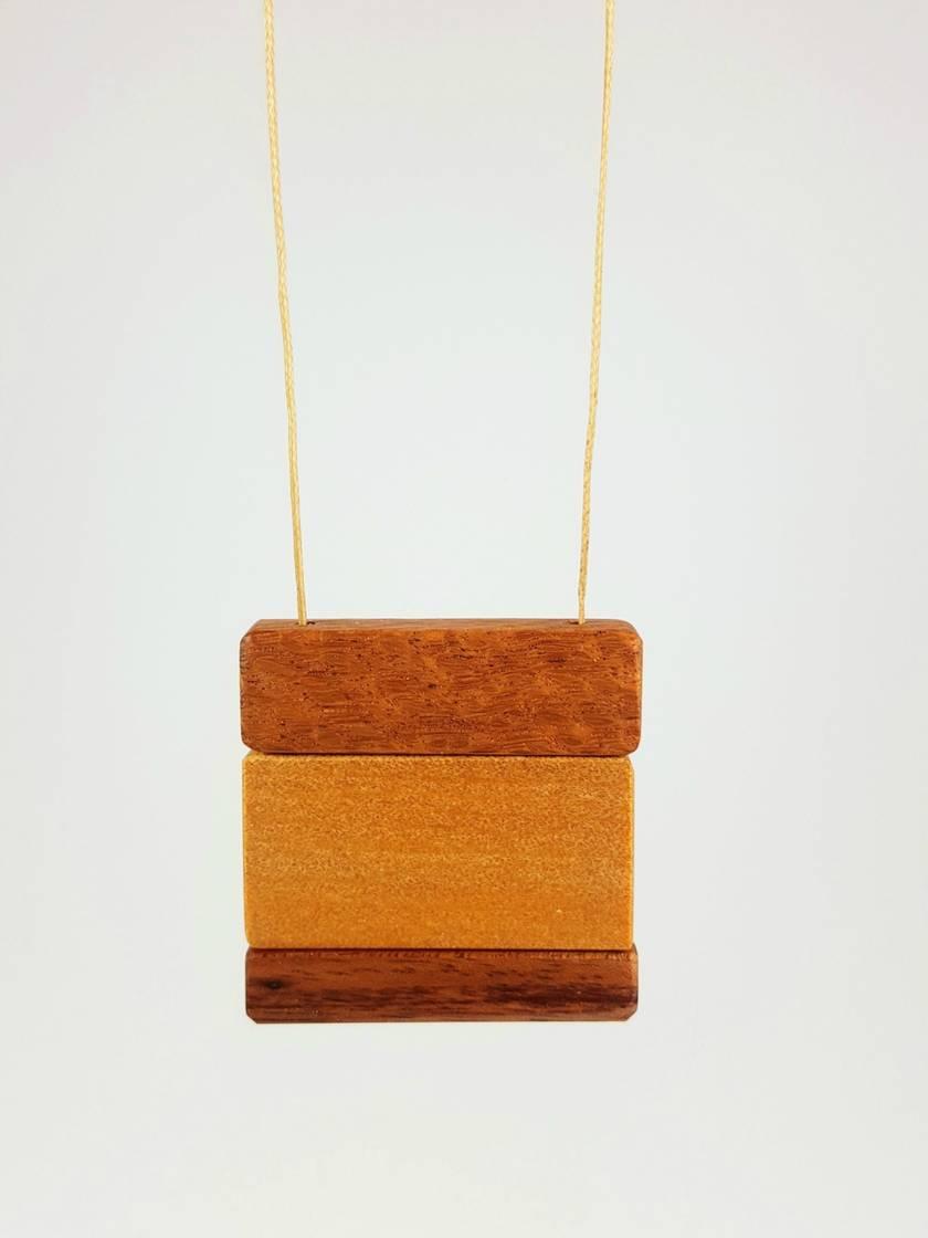 Wooden Pendant Reversible
