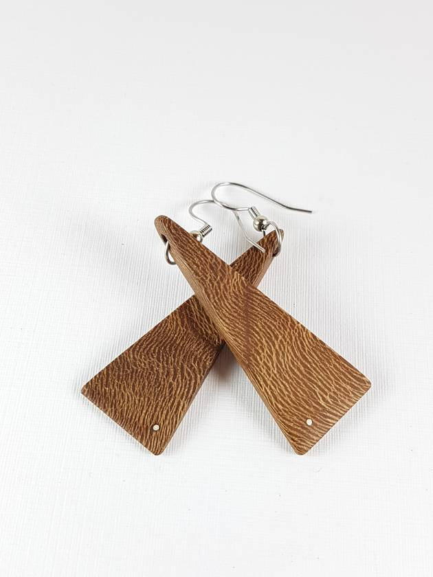 Triangle Drop Earrings - with history