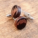 Fathers Day Recycled Wenge Cufflinks