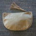 Leather and hide purse or clutch with tassle