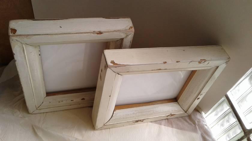Kauri and Rimu Painted Frames