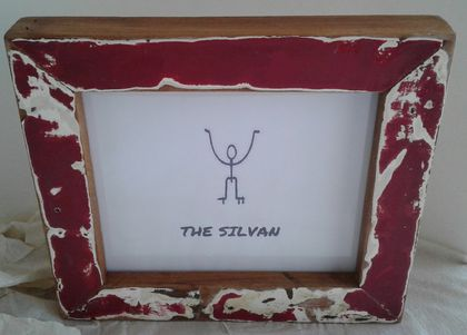 Native Rimu Painted Frame