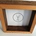 """Frame Cedar Shadow Box 6""""x6 """""""