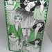 Diary cover - Collaged Fashion images