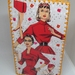 1950's fashion collaged diary cover