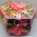 Stunning floral vintage themed box