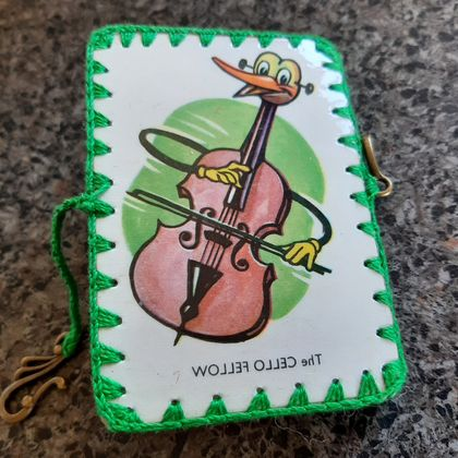 Needle Case Vintage Playing cards