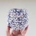 ECO Pencil pot (blue + sand)