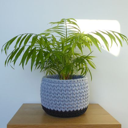 ECO Large pot (grey + charcoal)