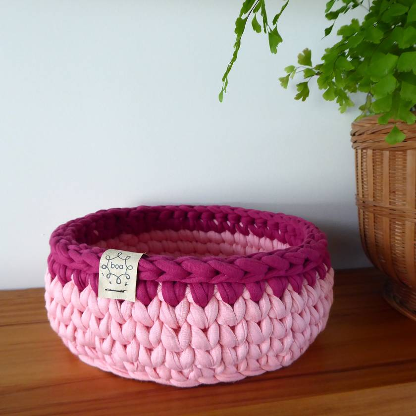 ECO Nesting baskets (pink)