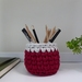 ECO Pencil pot (red + grey)