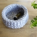 ECO Small storage bowl (light grey)