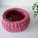ECO Small storage bowl (rose)