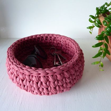Large Treasure Bowl (rose)