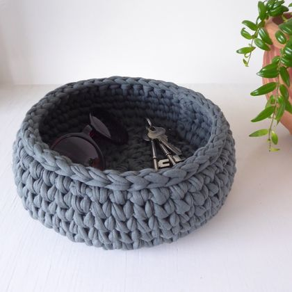 Large Treasure Bowl (moss grey)