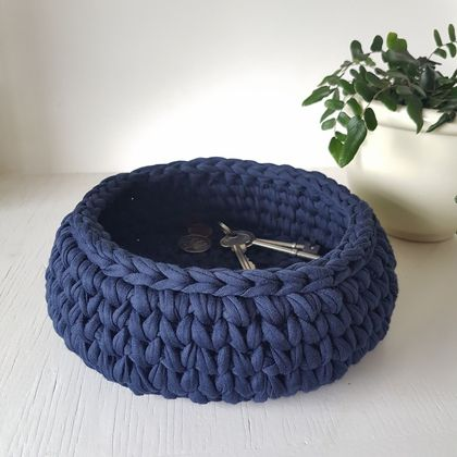 Large Treasure Bowl (navy)