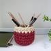 ECO Pencil pot (terracotta + cream)