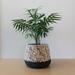 ECO Large pot (pattern + charcoal)