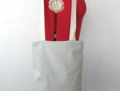 Horizontal Stripe Bag