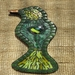 Mosaic Bird - Green and Yellow