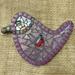Mosaic Bird - Purple Tones