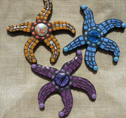 Mosaic Starfish - choice of color