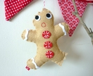 Nibbled on Gingerbread Man – Christmas Decoration