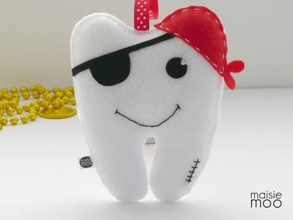 Pete the Pirate Tooth Fairy Pillow