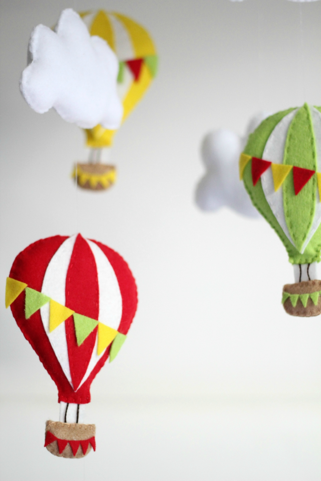 Hot Air Balloon Sewing Pattern - Baby Mobile Pattern ...