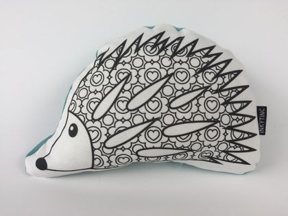 Hedgehog colouring toy