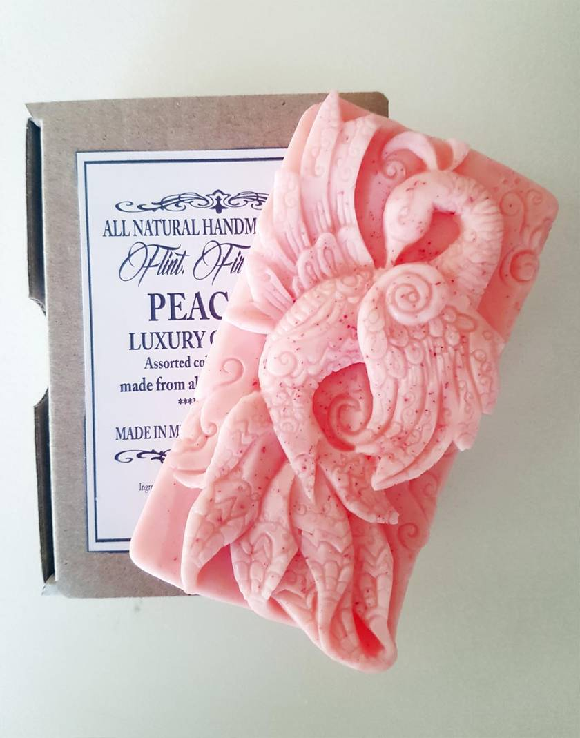 Peacock Luxury soap - Gift Box  ***FREE SHIPPING***