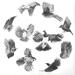 Birds Circling 2018 A2 Size