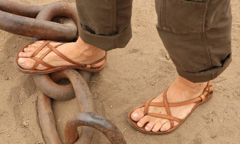Bespoke Leather Sandals