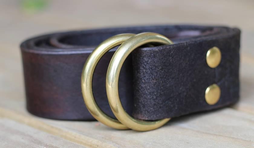 Leather Harness Belt