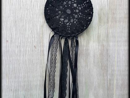 Medium Black Dreamcatcher