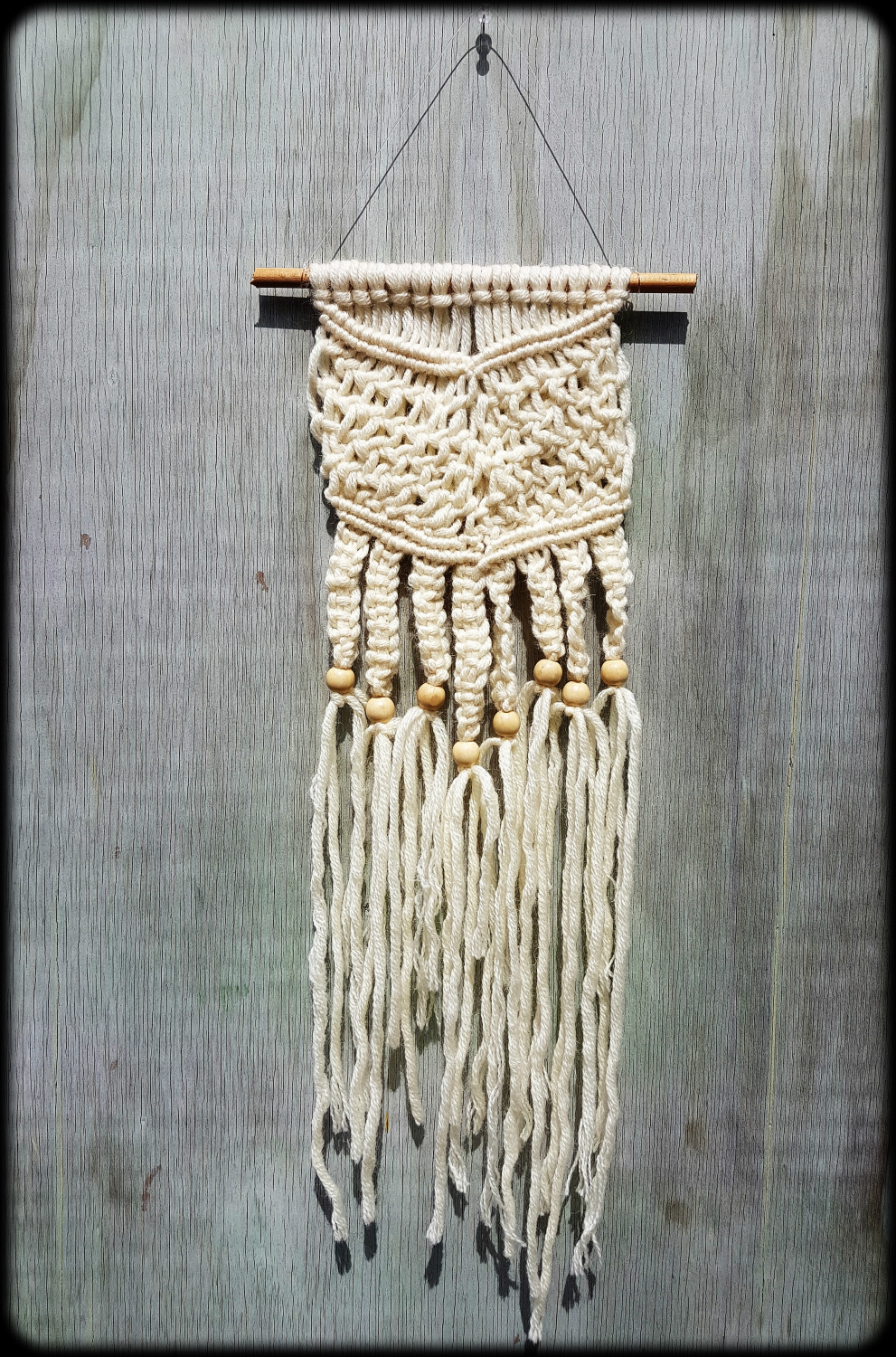 Macrame Knotted Wall Hanging Felt
