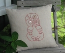 Tiki cushion covers