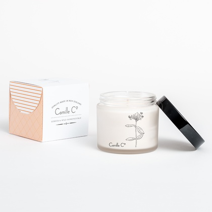 Ginger & Wild Honeysuckle Candle