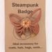 Steampunk Butterfly Pins