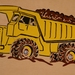 Quarry Truck 9pc Wooden Handcrafted Puzzle