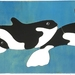 Orcas 12 Pce Wooden Handcrafted Puzzle