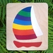 Rainbow Yacht 9pc Wooden Handcrafted Puzzle