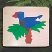 Pukeko in a Ponga Tree 10pc Wooden Handcrafted Puzzle
